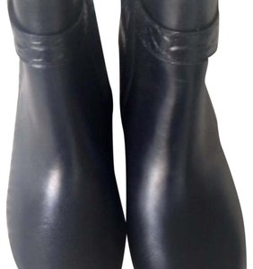 Coach Leather Classic Black Boots