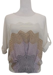 BCBGMAXAZRIA Top Cream combo