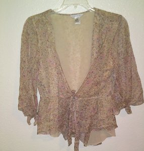 Richard Malcolm Silk Floral Top