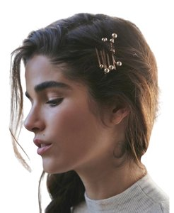 Free People Floating Pearl Bobby Pins