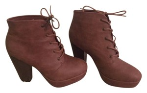 Cathy Jean Heel Style Tan/ Brown Boots