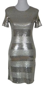 Design History Sequin Bodycon Stretchy Sexy Dress