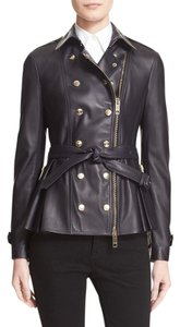 Burberry London Ink Leather Jacket