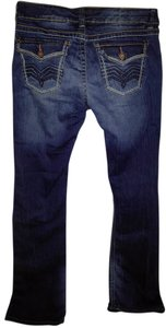 UNIONBAY Distressed Boot Cut Jeans-Distressed