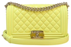 Chanel Medium Lambskin Shoulder Bag