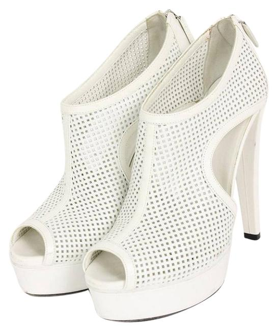 Item - White Kim Boots/Booties Size US 7.5 Regular (M, B)