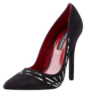 Charles Jourdan Black suede Pumps