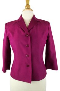 Talbots Silk Top Fuchsia