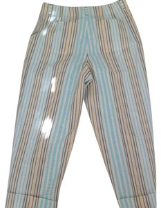 Talbots Capris Pale Yellow/Blue/White/Light Green/Denim