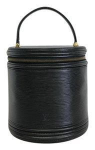 Louis Vuitton Lv Cannes Epi Vanity Tote in black