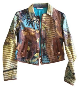Roberto Cavalli Leather Leather Jacket