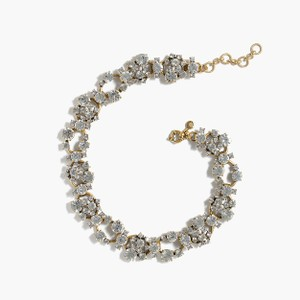 J.Crew . Crew CRYSTAL CHAIN statement necklace $129