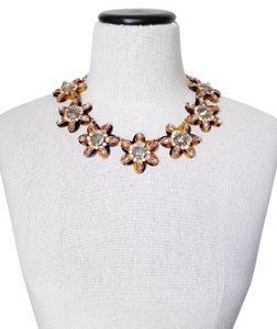 J.Crew J. Crew Petal Burnt necklace statement necklace