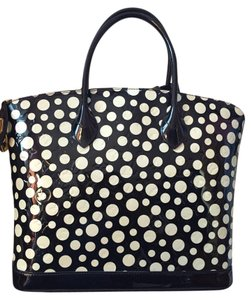 Louis Vuitton Yayoi Kusama Lockit Mm Infinity Dots Satchel in Multi/Print