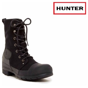 Hunter Blavk Combat Boots