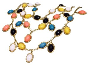 Kate Spade Kate Spade new York Multi Strand Bib Collar Multi Color Necklace