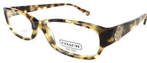 Coach Light Tortoise Coach Women's Eyeglasses