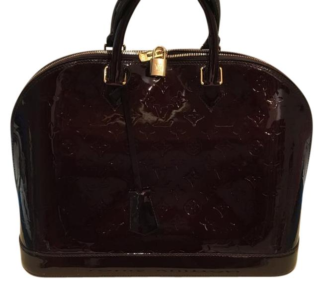 Item - Vernis Alma Gm Rouge Fauviste Patent Leather Tote