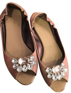 Banana Republic Ballet Slipper Jewels Taupe Flats