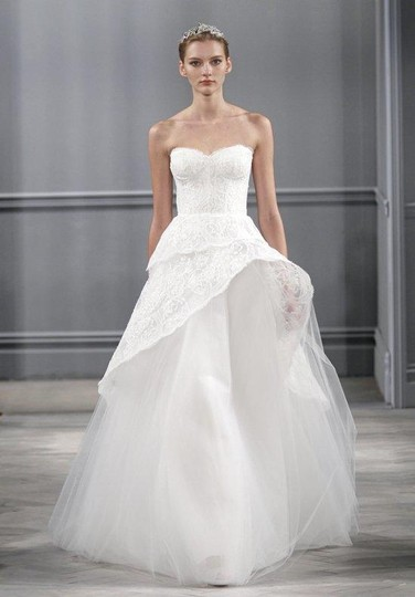 Preload https://item5.tradesy.com/images/monique-lhuillier-silk-white-chantilly-lace-and-tulle-azure-wedding-dress-size-6-s-1996404-0-0.jpg?width=440&height=440