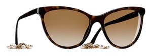 Chanel Stunning Cat Eye Tortoise Chanel Sunglasses 5341-H c.714/S9 58