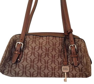 Fossil Two-tone Print Shoulder Bag