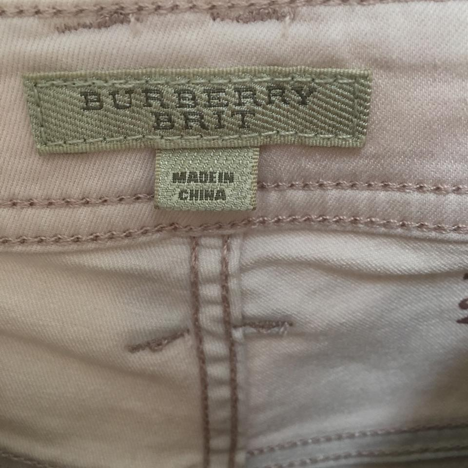 cd836a4e13a9 Burberry Brit Bayswater Stretch Ankle Zipper Skinny Jeans Image 0 ...