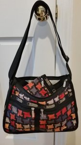 LeSportsac Autism Speaks Color Deluxe Everyday Shoulder Bag