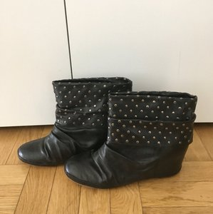 80%20 Studded Booties Black Boots