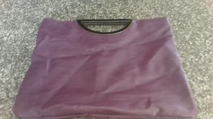 Style & Co Good Funky Good Size purple Clutch