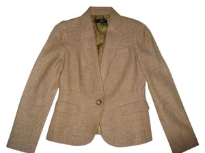 Talbots Tan/camel with specks of various colors Blazer