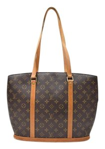 Louis Vuitton Babylone Tote in Brown