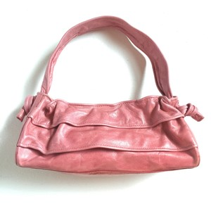Hobo International Hobo Ruffle Leather Mini Shoulder Bag