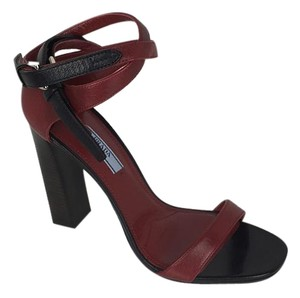 Prada oxblood Sandals