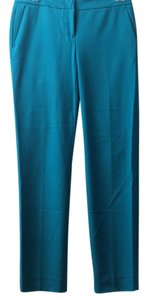 Vince Camuto Comfort Work Green Soft Straight Pants Teal