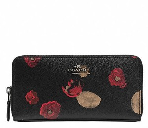 Coach Coach ACCORDION ZIP WALLET IN HALFTONE FLORAL PRINT Wallet 55950 NWT