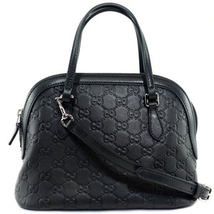 Gucci 341504 Dome Leather Cross Body Bag