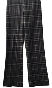 Burberry London Wool Trouser Pants Black and white