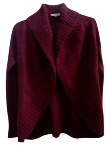 Vince Sweater Wrap Knit Open Shawl Collar Cardigan