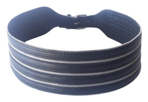BCBGMAXAZRIA Black Wide Belt SMALL