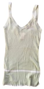 Frenchi Sheer Top Green