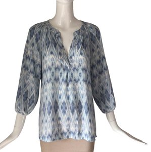 Joie Top Blue/ white