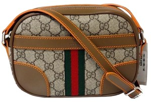 Gucci 387506 Gg Supreme With Cross Body Bag