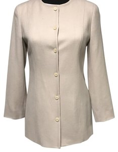J.Crew 100% Wool Fully Llined nude Blazer