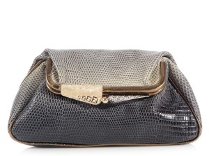 Fendi Crystal Fi.k0815.10 Exotic Ombre Clutch