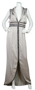 Chanel Silk Sleeveless Long Maxi Dress