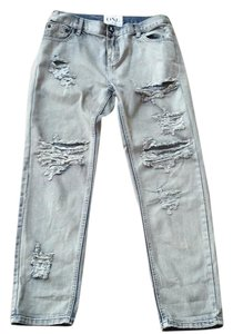 One Clothing Straight Leg Jeans-Distressed