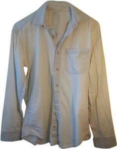 American Apparel Denim Chambray Button Down Shirt light blue (light wash indigo)
