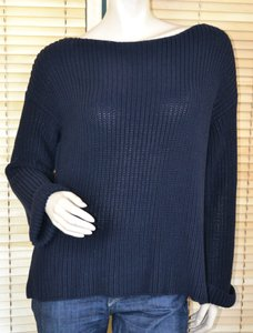 Vince Knit Cotton Oversize Sweater