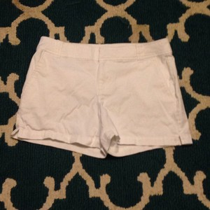 New York & Company Dress Shorts White